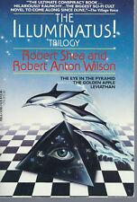 THE ILLUMINATUS TRILOGY and SCHRODINGER'S CAT TRILOGY WILSON, ROBERT ANTON