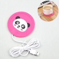 USB Cartoon Warmer Silicone Heater For Mug Coffee Hot Drinks Beverage Mat Pad !