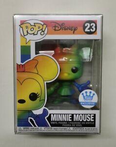 #23 Minnie Mouse (Pride). Mickey & Friends. Funko Pop! Disney. Funko Shop Exc.