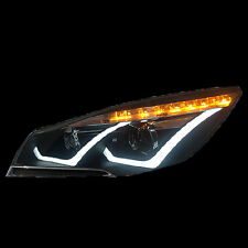 For Ford Kuga Escape 2013-2015 2pcs LED Head Lamp LED Turn Light Front Headlight