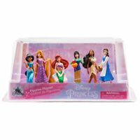 Disney Princess 6pc Figure Play Set Toys Cake Toppers Jasmine Pocahontas Mulan .