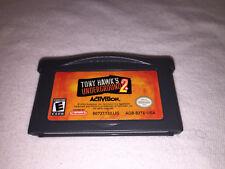 Tony Hawk's Underground 2 (Nintendo Game Boy Advance, 2004) GBA Game Excellent!
