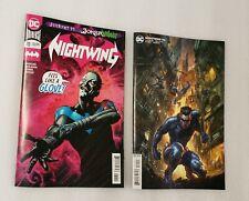 Nightwing #70 1st Print Joker War Cover A & B Variant Set Alan Quah DC Comics