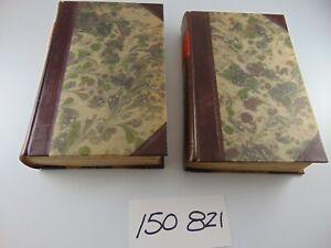 19th c H/B BOOK 1843 EGYPT THEBES VOLUME I & II GARDNER WILKINSON