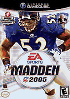 Madden NFL 2005 - Electronic Arts Football - Nintendo GameCube