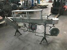 3 1/4'' x 72'' Stainless Steel Table Top, Bottle Conveyor