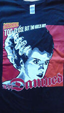 THE DAMNED Warning ! Plan 9, T-Shirt Size Large.New.Punk,Rock,Goth,Horror,Sci-Fi