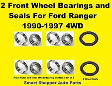 Front Wheel Bearing and Seal Set For 19990 1991-1997 Ford Ranger 4WD- a set of 2
