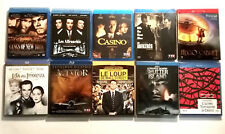 Lot Blu-ray : 10 Films de Martin SCORSESE dont éditions Steelbook, 3D