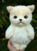 "OOAK Artist teddy bear cat 9""    OOAK Artist teddy bear kitten 9"""
