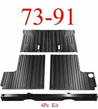 4Pc 73 91 Chevy Blazer Rear Cargo Floor & Tail Pan Section, GMC Jimmy