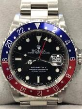Rolex 16710 GMT Master II Pepsi Red & Blue Stainless Steel Watch