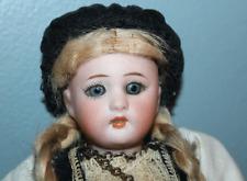 "Sweet ANTIQUE German BISQUE Simon & Halbig 8"" Doll 1078 SLEEP EYES Germany"