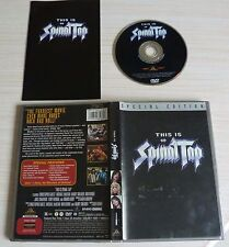DVD SPECIAL EDITION THIS IS SPINAL TOP EN VO SOUS TITRES FRANCAIS ESPAGNOL ZONE1