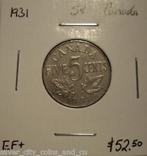 Canada George V 1931 Five Cents -  EF+
