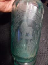 VINTAGE SELTZER Bottle Vintage siphon eau seltz LE LION BOURBOURG Doyelle