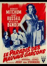 affiche du film PARADIS DES MAUVAIS GARCONS (LE) 60x80 cm entoil�e