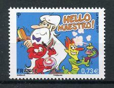 France 2017 MNH Hello Maestro Globus Nabot 1v Set Comics Cartoons Stamps