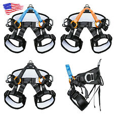 New listing Climbing Harness Rock Tree High Altitude Protection Caving Rappelling Waist Belt