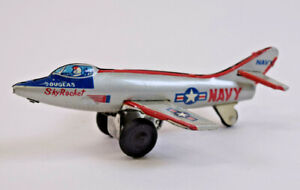 Vintage Navy Douglas Sky Rocket Toy Jet Fighter Plane
