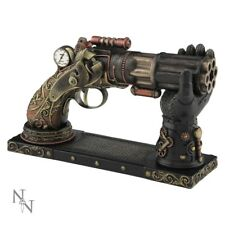 Nemesis Now Nock's High Powered Steam Gun Bronze Gothic Steampunk Figurine