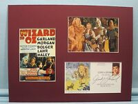 The Wizard of Oz & First Day Cover of Judy Garland stamp as Dorothy