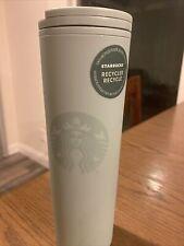 Starbucks Recycled Plastic Matte Teal Hot Tumbler 16oz - NWT