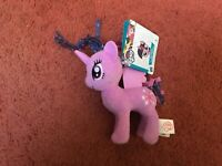 "My Little Pony C0101AS0 Mlp Small Plush Princess Twilight Sparkle 6"" Soft Toy"