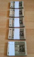 Ro. 80, pick 81 - 1 Lot: 100 billetes a 5000 marcos en conservación III/IV -