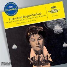 Irmgard Seefried - Liederabend SCHUMANN SCHUBERT BRAHMS Erik Werba