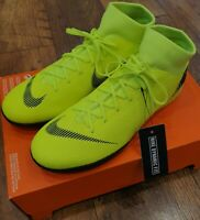 GENUINE Nike Superfly VI(6) Academy Indoor Football Boots Volt (Yellow) - UK8.5