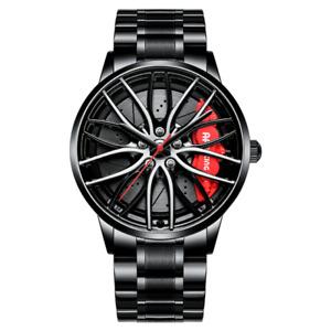 BMW M4 Red - 3D Brake Caliper Wheel Watch