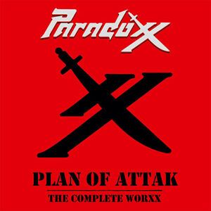 PARADOXX - Plan of Attak - The Complete Worxx (NEW*LIM.CD*US METAL 1985*TOP RAR)