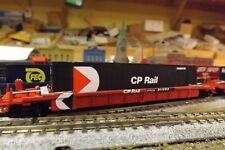 N-Scale Custom Painted CP RAIL (CP) WELLCAR W/CONTAINER # 911999
