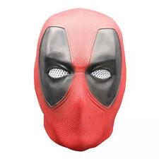 Deluxe Latex Deadpool LED Mask Cosplay Deadpool 2 Full Face Helmet Handmade Mask