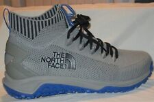 MEN'S THE NORTH FACE TRUXEL MID  NFOA3WZBC55-070 GRIFFIN GRET/BLUE SHOES SIZE 7