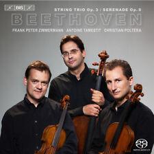Ludwig van Beethoven : Beethoven: String Trio, Op. 3/Serenade, Op. 8 CD (2014)