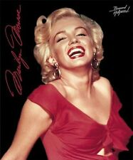 MAKE OFFER Marilyn Monroe Red Dress Fleece Blanket Throw NEW