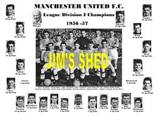 Manchester united 1957 ligue des champions memorabilia