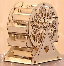 Y308 XXL Mr & Mrs FERRIS WHEEL Candy Cart Donut doughnut wall wedding favours