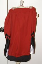 NWT NBN GEAR YOUNG MEN'S SIZE M RED AND BLACK ACTIVE SHORTS