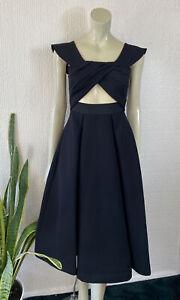 Self-Portrait Dress Black UK 6