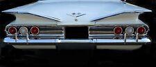 1 1960 Chevy Impala Sport Car Vintage 43 Chevrolet 12 Metal 24 Carousel White 18