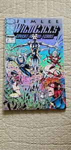 WILDC.A.T.S. #2  PRISM COVER 1ST WETWORKS JIM LEE WHITE PAGES PRISTINE