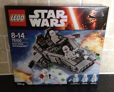 LEGO STAR WARS - 75100 First Order Snowspeeder *Brand New In Sealed Box*
