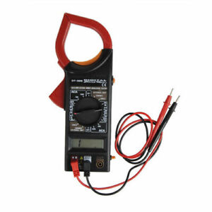 MULTI TESTER DIGITALE PINZA AMPEROMETRICA CORRENTE DISPLAY LCD DT266 AC/DC