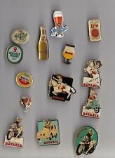BEER BIER pin badges Logo Brewery Amstel Miller Bavaria Brand Duvel