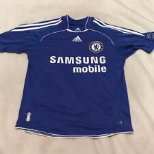 Chelsea FC Samsung Mobile Blue Adidas Clima Cool Soccer Jersey Youth Large