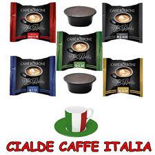 200 Capsule Caffè Borbone Rosse Blu Oro Nere Dek Compatibili Macchine a Modo Mio