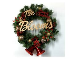 Handmade Christmas Wreath, Bells Wreath, Personalized Wreath